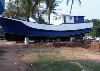 (ilustrasi) nelayan akan dapat bantuan kapal fiber dari DKP Kalsel