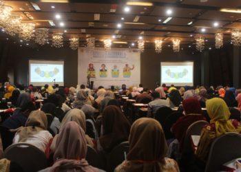 Seminar Nasional yang diadakan oleh Prodi FMIPA Universitas Lambung Mangkurat (ULM), diikuti sebanyak 350 peserta. Foto - Dema