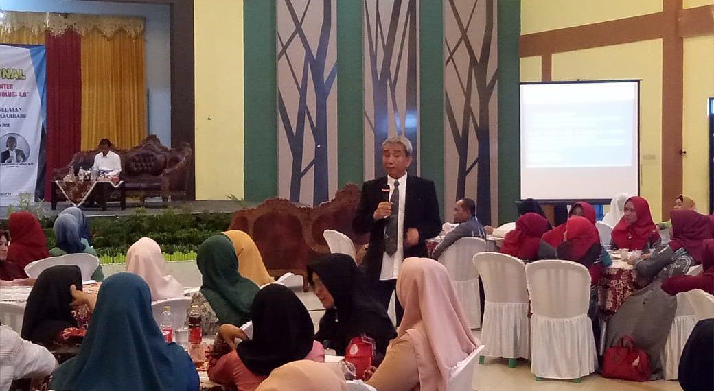 Pendidikan karakter perlu ditanamkan kepada para pelajar Indonesia. Foto - ist