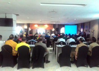 Bawaslu Kota Banjarbaru mengadakan Rakor dengan Stakeholder Pengawasan Pileg dan Pilpres Pemilu tahun 2019 Kota Banjarbaru. Foto - Dema