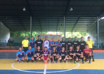 Tim Futsal IKAPTK Banjarbaru meraih Juara 1 di Turnamen Futsal IKAPTK Se- Kalsel. Foto - ist
