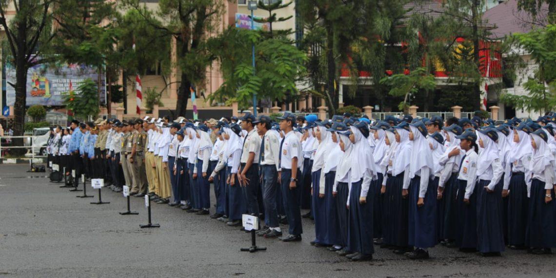 Bidang pendidikan menjadi salah satu fokus utama pembangunan Kota Banjarbaru di tahun 2019. Foto - Dema