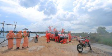 Konsep foto yang 'disajikan' BPBD Kota Banjarbaru terkesan romantis nan tangguh. Foto - ist