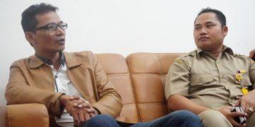 Ahmad Saleh melakukan konfrensi pers bersama kuasa hukumnya karena tidak terima dengan pemberitaan oleh salah satu situs online