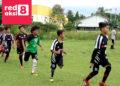 para pesepak bola usia dini tengah latihan menuju persiapan Fun Turnamen u-11 dan u-13/ Photo : R a m a