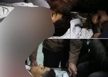Martyr Hasan Shalby (14) atas, Hamzah Istehwi (17) bawah/ Photo : net