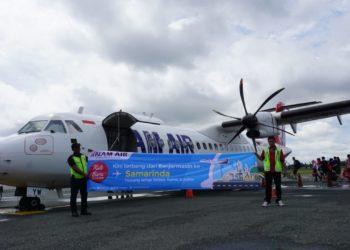 NAM Air kini buka rute dari Banjarmasin ke Samarinda. Foto - hms bdj