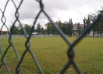 Lapangan Dr Murjani dipilih jadi venue Fun Tournament 2019 Karang Taruna Kota Banjarbaru. Foto - Dema