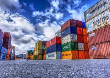Ilustrasi peti kemas ekspor - impor. Foto - net