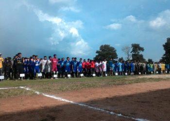 Sebanyak 18 tim ikut dalam turnamen Piala Ketua Askot PSSI Banjarbaru. Foto - Dema