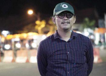 Novyandi Saputra, pencipta lagu I Miss You Banjarbaru New Version. Foto - Istimewa