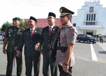 Sinergitas antara Pemerintah Daerah, TNI dan Polri sangat diperlukan. Foto - Salim