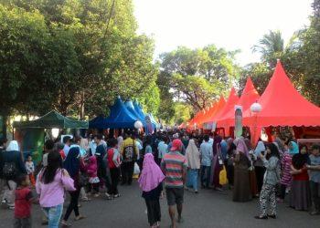 Suasana di Pasar Wadai Ramadan Kota Banjarbaru tahun 2019. Foto - Dema