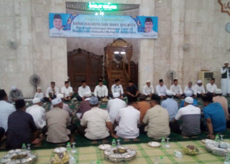 Safari ramadan Pemko Banjarbaru berlanjut. Foto - Ai