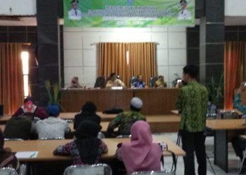 Pemerintah Kabupaten Banjar melalui dinas Ketahanan Pangan melakukan rapat koordinasi progosa ketersedian kebutuhan pangan menjelang hari hari besar keagamaan nasional di Kabupaten Banjar