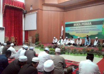Walikota dan Ulama di Banjarbaru ajak masyarakat agar tidak terprovokasi gerakan people power. Foto - Dema