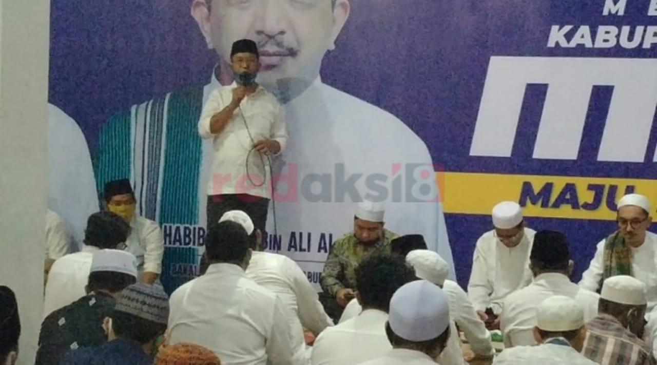 Calon Wabub dan wakil (Saidi mansyur-Habib Idrus Al Habsyi) Manis