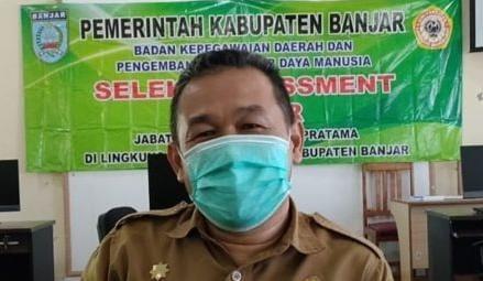 Redaksi8.com - Kepala Badan Kepegawaian Daerah dan Pengembangan Sumber Daya Manusia (BKDPSDM) Kabupaten Banjar, Rakhmat Dhani
