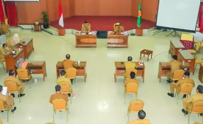 Rapat Koordinasi Pimpinan SKPD Lingkup Pemerintah Kota Banjarbaru Bulan November Tahun 2020 - rama